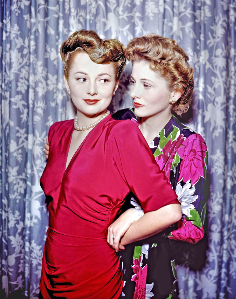 301 moved permanently for Joan fontaine and olivia de havilland feud