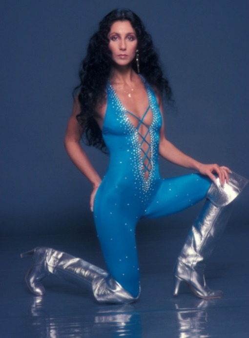 Cher 1980 Photo Credit: Harry Langdon_Shooting Star™