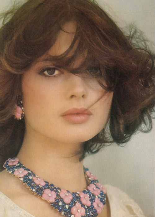 Isabella Rossellini by Fabrizio Ferri for UK Vogue, 1975