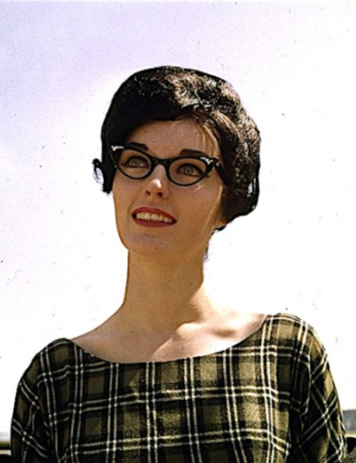 Girls who wear glasses,is as important as make-up for women,Midwest Magazine.July 7 1963