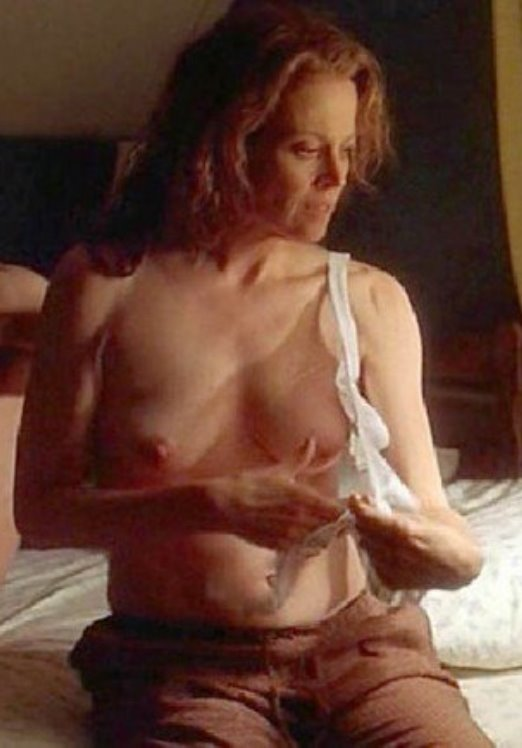 Sorry, that sigourney weaver nude think, that